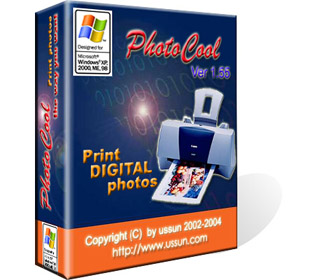 Digital photo printing software.