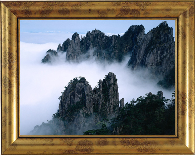 Digital photo printing software - Add frame to photo.